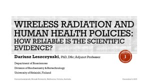 Leszczynski MONASH December 9 2015