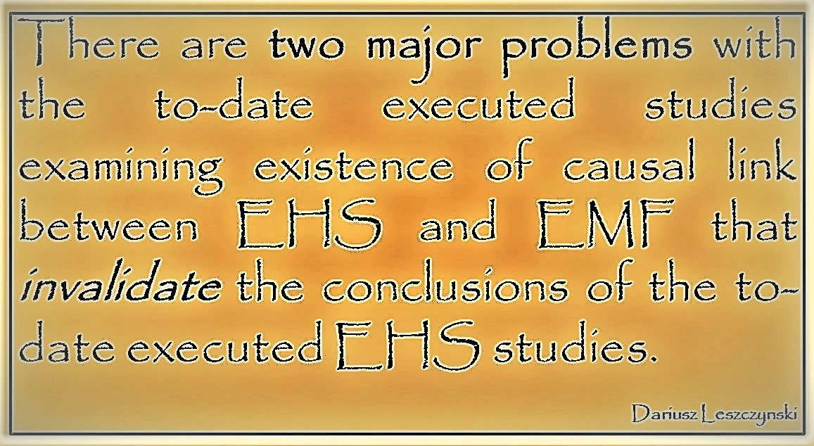 EHS research is scientifically worthless for two reasons… | BRHP ...