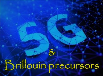 Can 5G phased array antennas generate Brillouin precursors